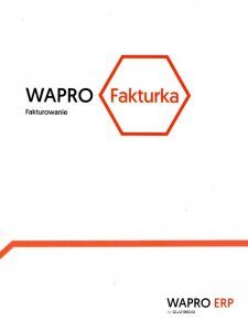 Program WAPRO Fakturka