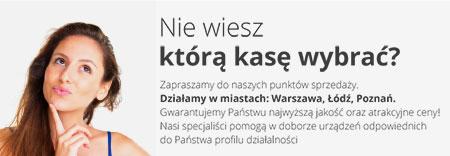 Kasy fiskalne Warszawa Łódź Poznań