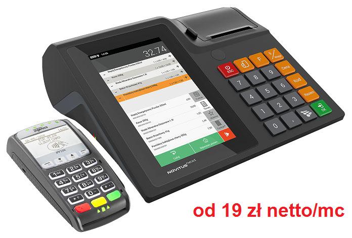 Novitus Next terminal płatniczy